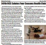 347th RCS Salutes Four Seasons Health Club