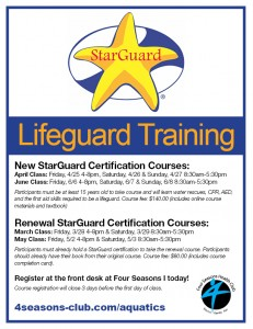 NEW StarGuard Certification Course @ Four Seasons I