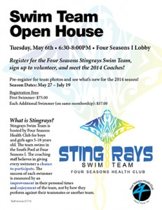 Summer Swim Team Open House @ Four Seasons I