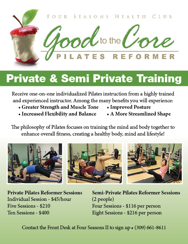 Reformer Private & Semi Private Sessions LG