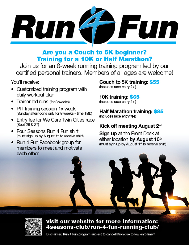 Run 4 Fun Running Program