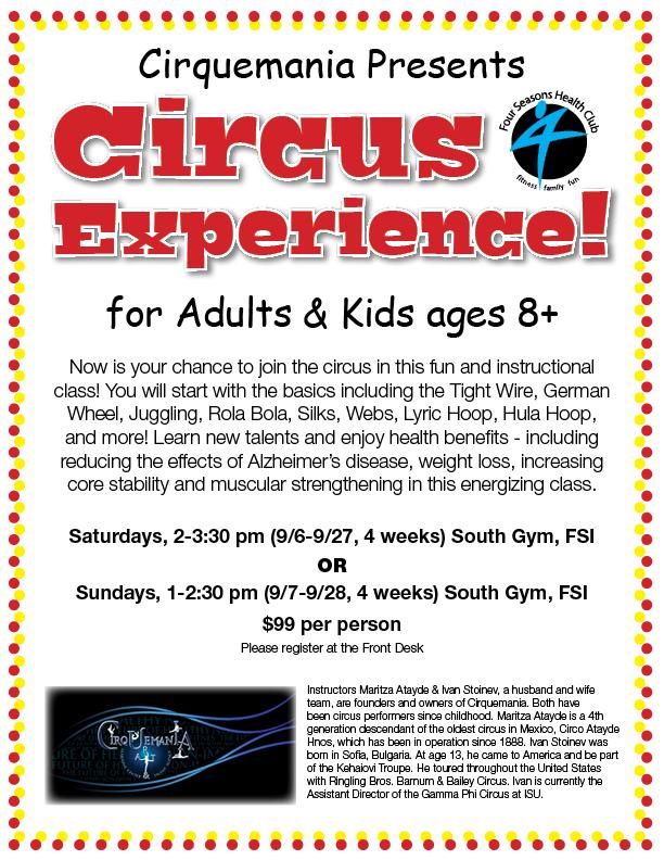 Join the Circus! @ Four Seasons I