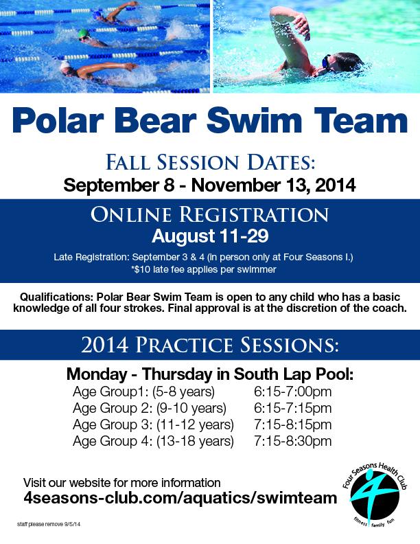 Polar Bear Swim Team