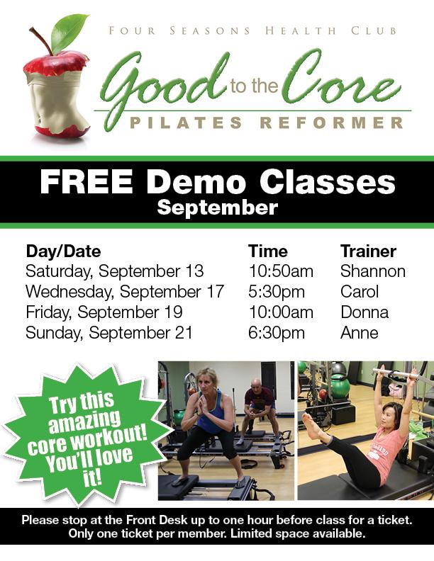 Pilates Reformer Demo Class