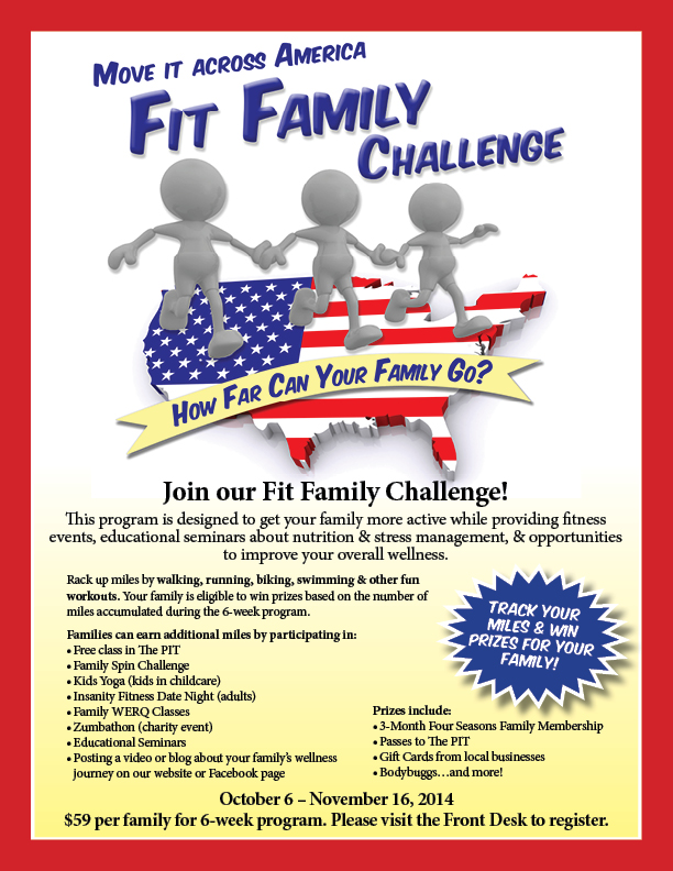 Fit Family Challenge @ Four Seasons I