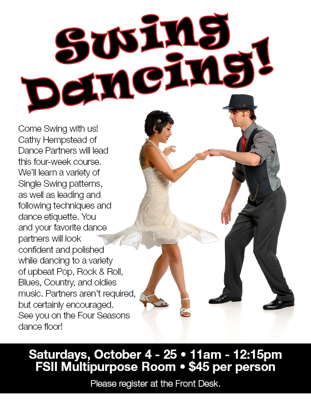 Swing Dancing @ Four Seasons II - Multi Purpose Room