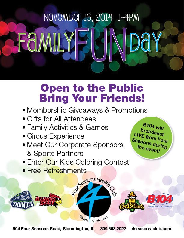 Family Fun Day! @ Four Seasons I