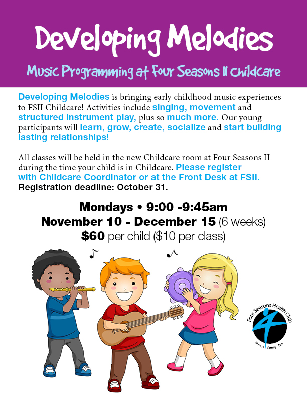 Music Program for Kids @ Four Seasons II Childcare