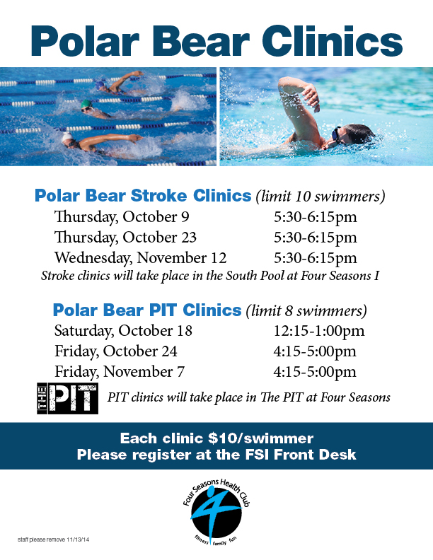 Polar Bear PIT Clinic @ Four Seasons II  - The PIT