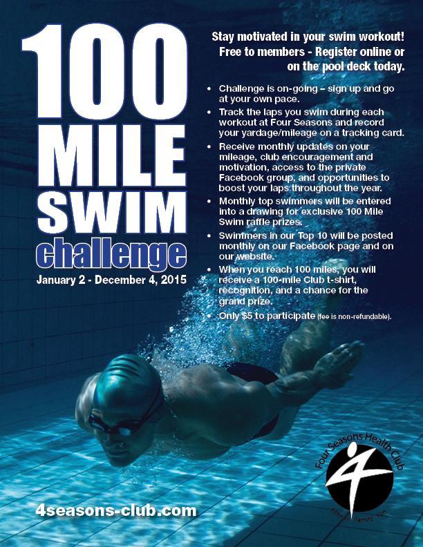 100 Mile Swim Challenge