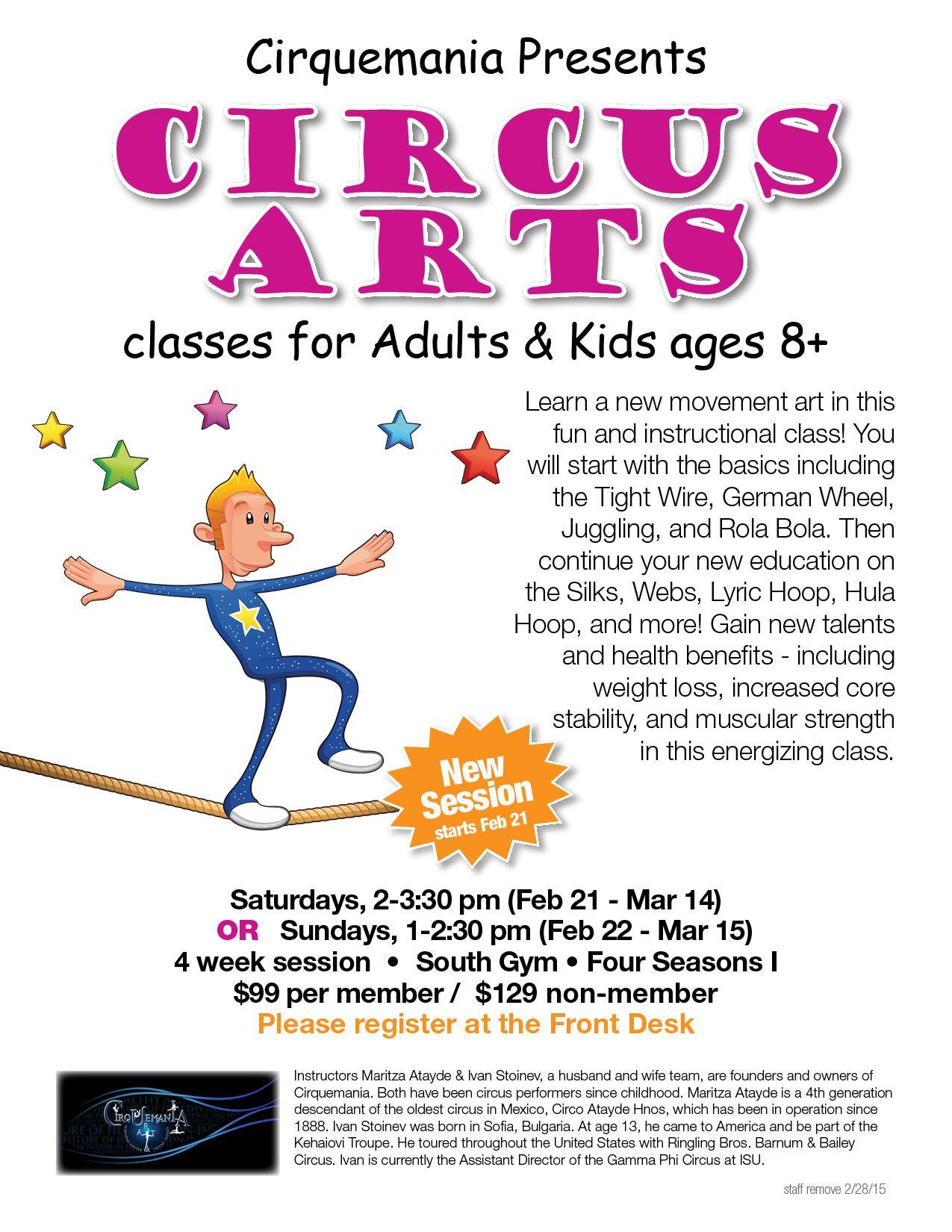 Circus Arts Classes