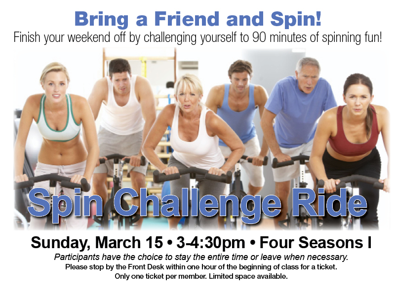Spin Challenge Ride @ Four Seasons I