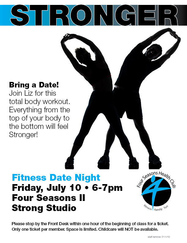 Fitness Date Night - Stronger @ Four Seasons II - Strong Studio
