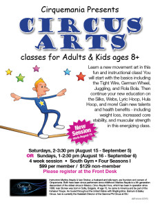Circus Arts Classes @ Four Seasons I