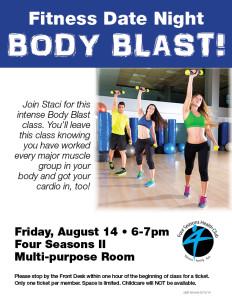 Fitness Date Night: Body Blast @ Four Seasons II Multipurpose Room