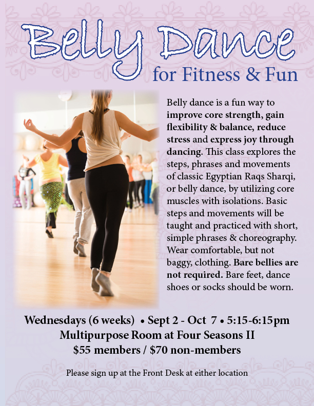Belly Dance Class @ FS II - Multipurpose Room