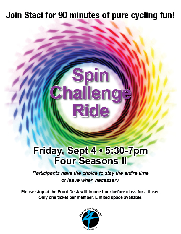 Spin Challenge Ride @ FS II
