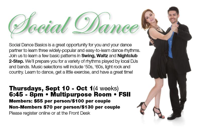 Social Dance Class