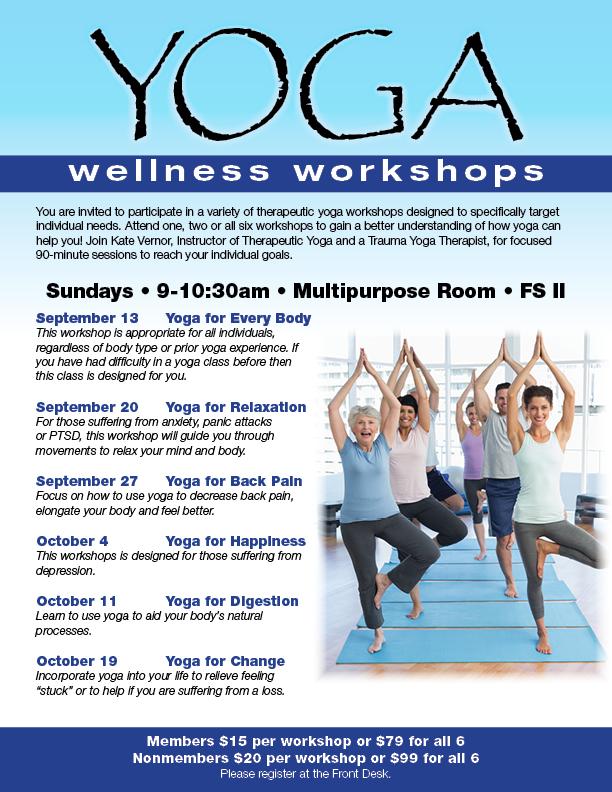 Yoga Wellness Workshops