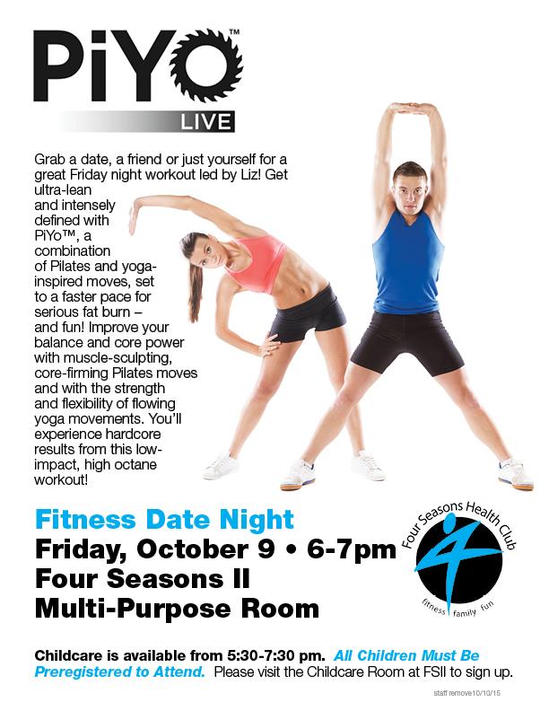 Fitness Date Night - PiYo Live @ FSII - Multipurpose Rm