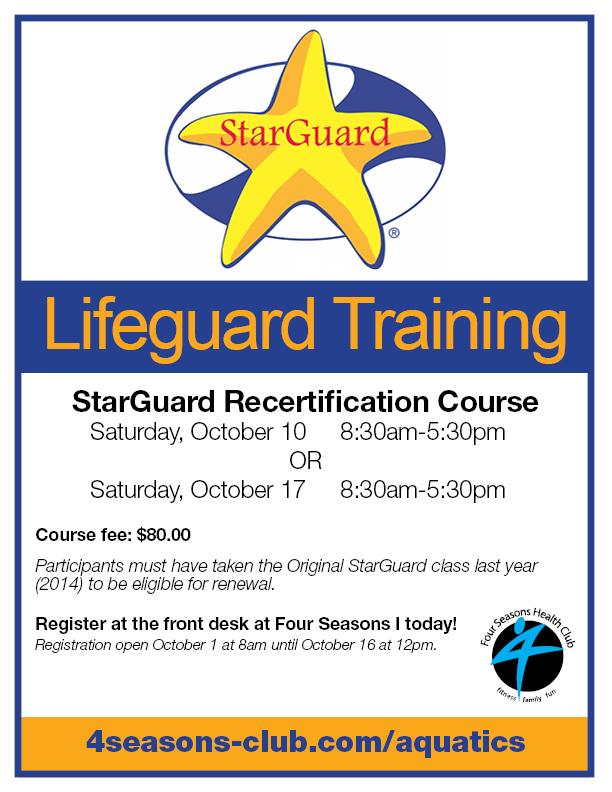 StarGuard Recertification