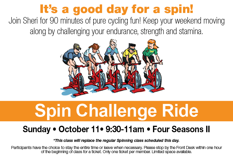 Spin Challenge Ride @ Four Seasons II