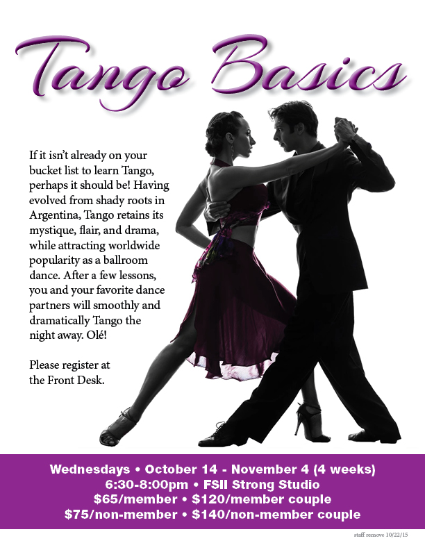 Tango Basics @ FSII - Strong Studio