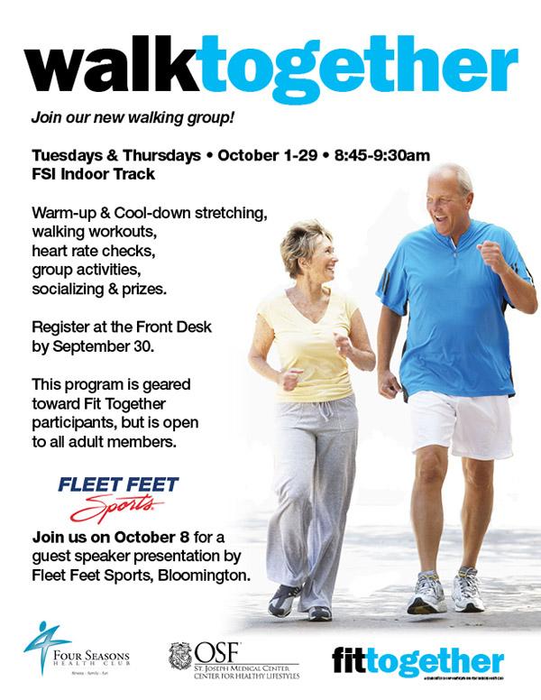 Walk Together @ FSI - Indoor Track