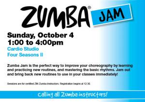 Zumba Jam @ Four Seasons II Cardio Studio