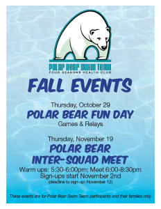 Polar Bear Fall Events 2015