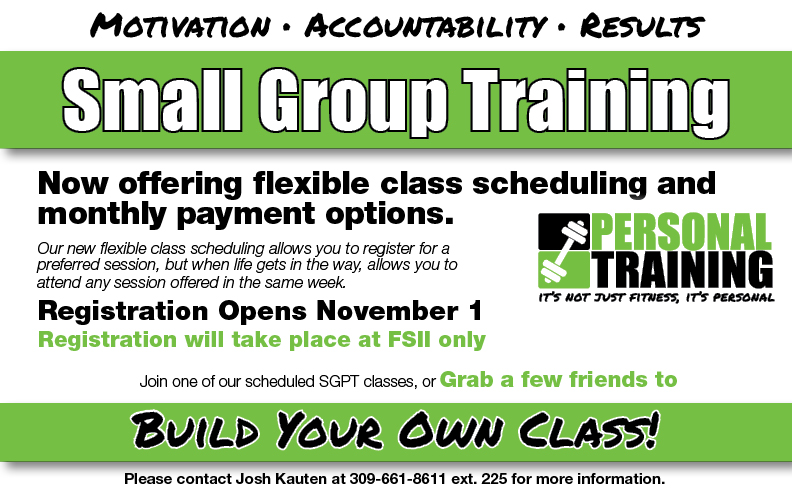 Small Group Training Registration @ Register at FS II Only