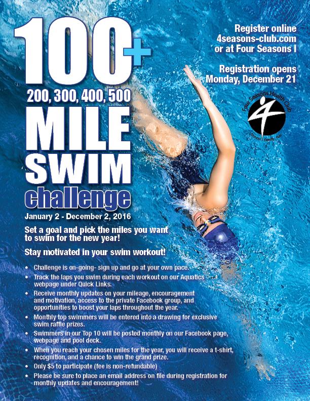 100+ Swim Challenge