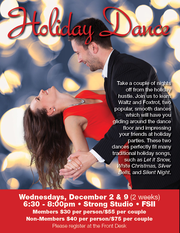Holiday Dance Class