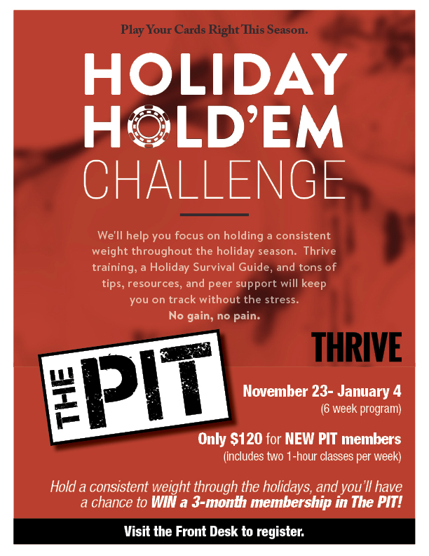 Holiday Hold'Em Challenge in The PIT