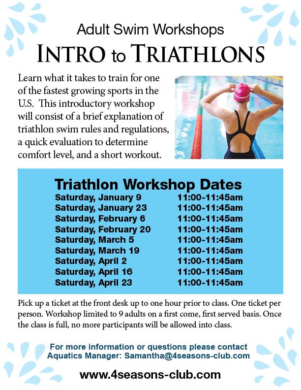 Triathlon Workshops