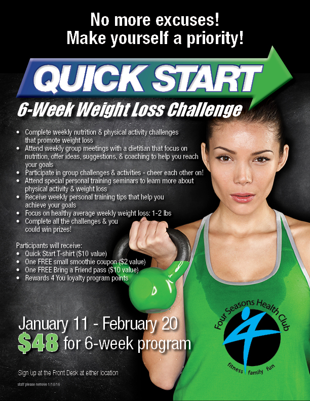 New Year's Resolution Results in Six Weeks | Four Seasons ...