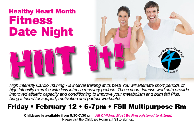Fitness Date Night @ FS II Multipurpose Rm