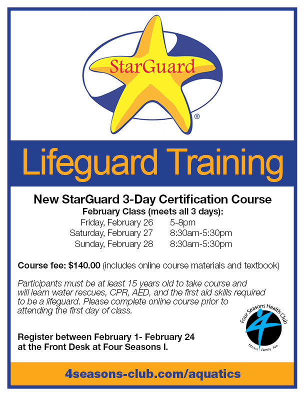 Lifeguard Training @ FS I