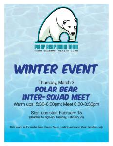 Polar Bear Winter Event 2016