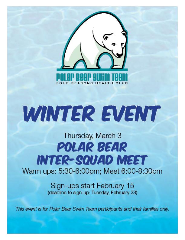 Polar Bear Swim Meet