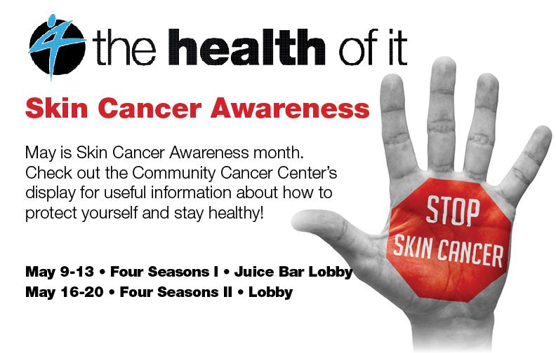 Skin Cancer Awareness Month @ FSI Juice Bar Lobby