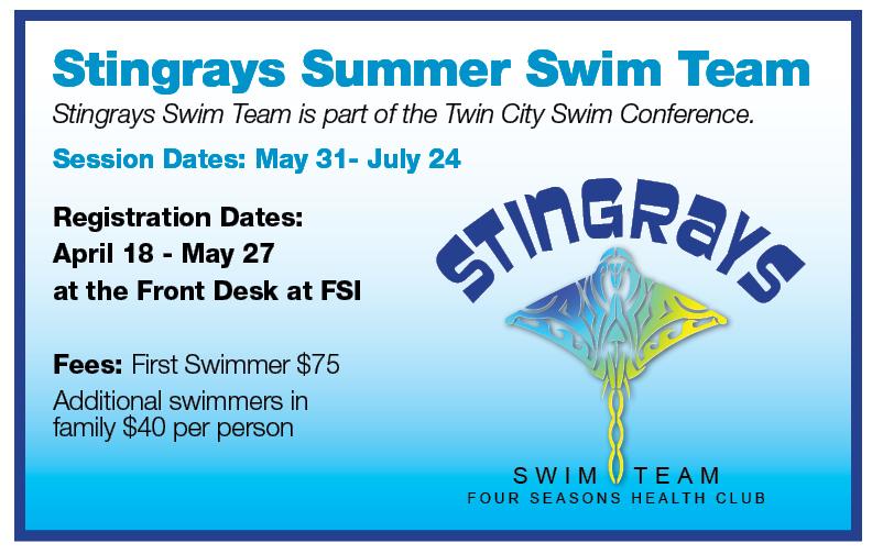 Stingrays Registration @ FSI - Front Desk