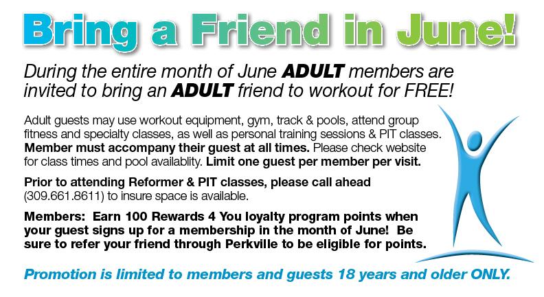 June Bring a Friend @ Four Seasons Health Club