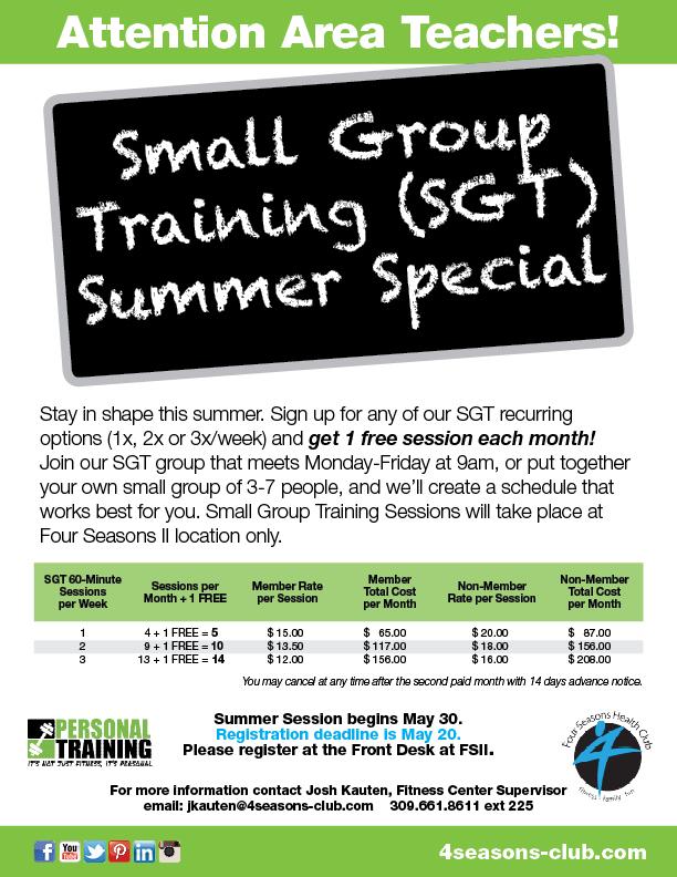 SGT Training for Teachers - Register now!