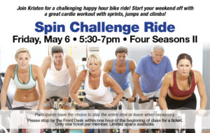 May Spin Challenge Ride @ Four Seasons II