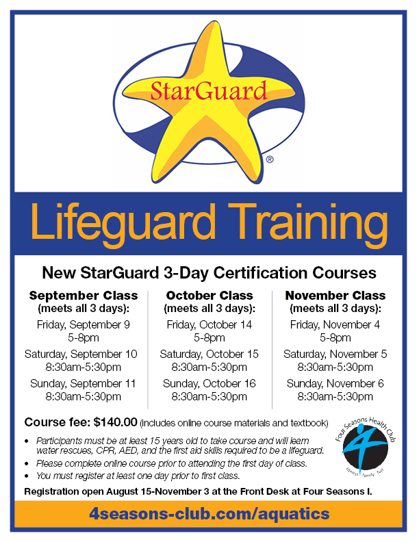 Life Guard Certification