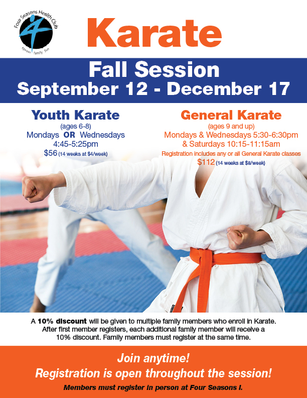 Karate Fall Session