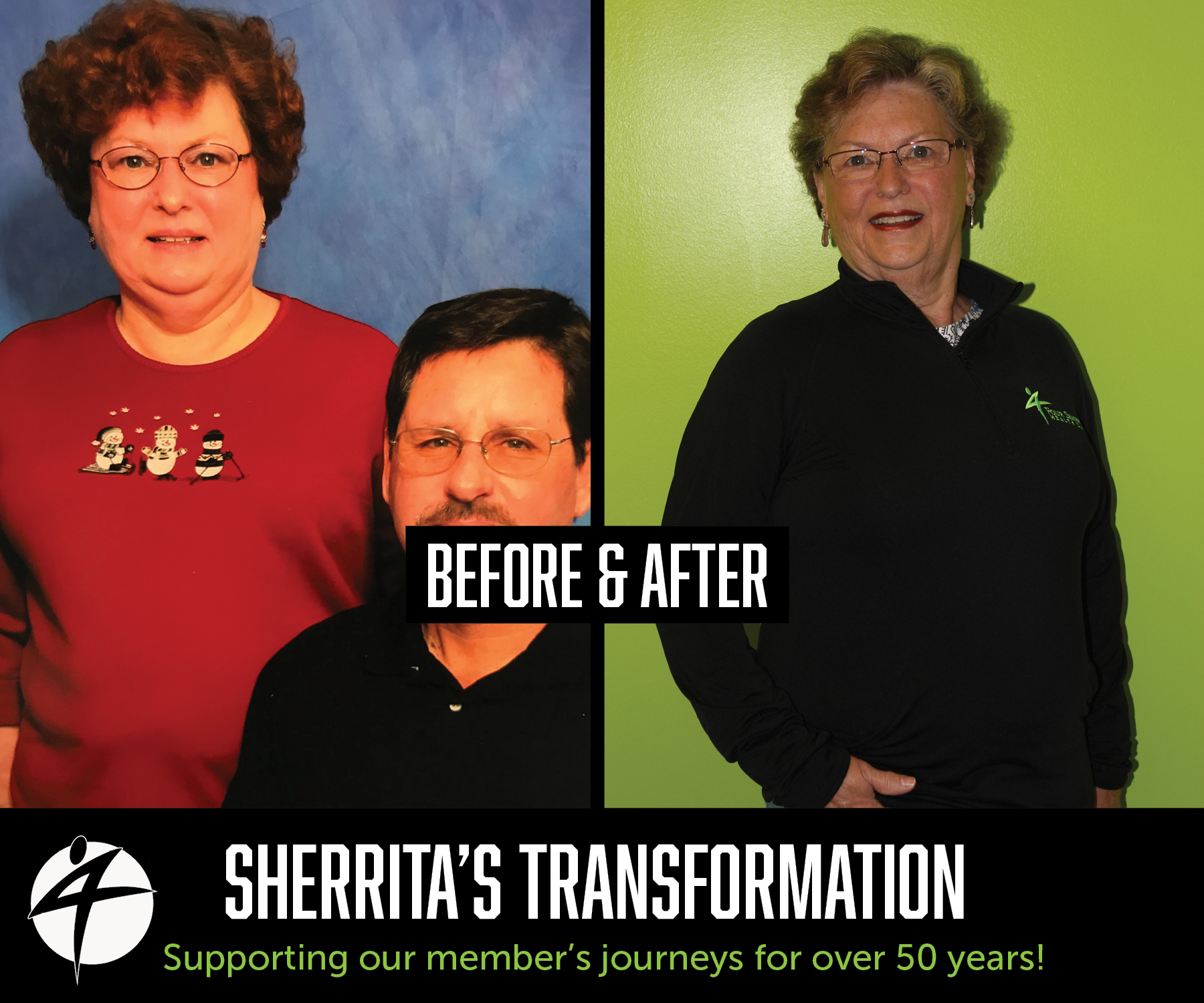 Sherritas Before and After May 2018